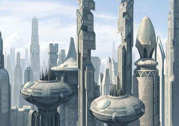 Papel de parede Star Wars City Coruscant