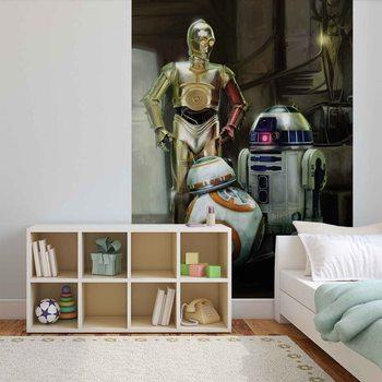 Papel de parede Star Wars Droids