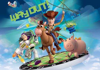 Papel de parede Toy Story Disney