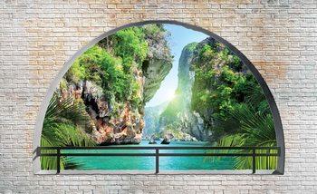 Papel de parede  Tropical Arch View