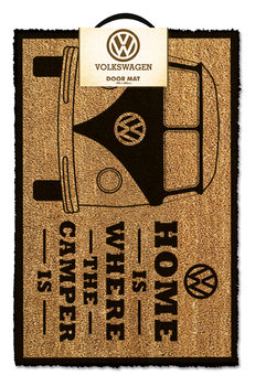Doormat VW - Home is Where The Camper Is