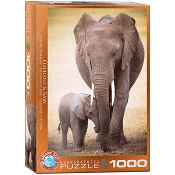 Palapeli Elephant & Baby