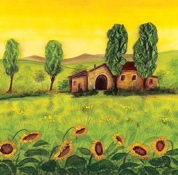 Farm Emilian Reproduction d'art