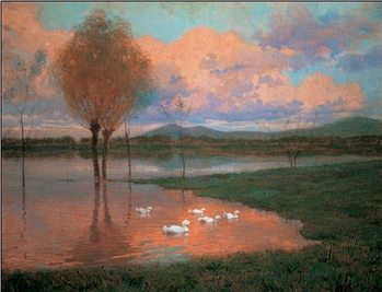 Floodplain - Flooded Land Reproduction d'art