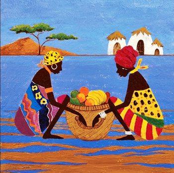 Fruit Basket Reproduction d'art