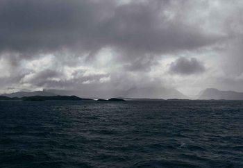 Glass Art  Stormy Seas