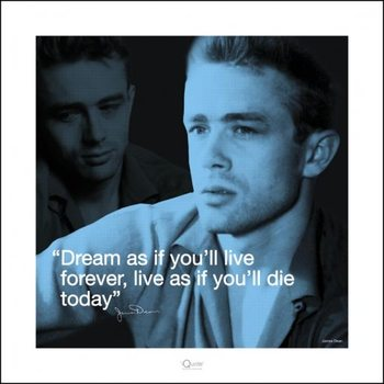 James Dean - i.Quote Reproduction d'art