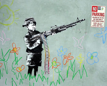 Juliste Banksy Street Art - No Parking