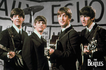 Juliste Beatles - daily echo