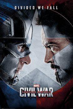 Juliste Captain America: Civil War - Face Off