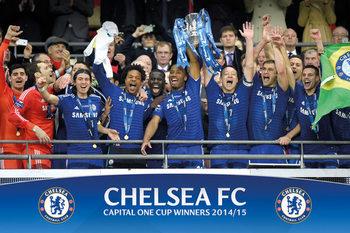 Juliste Chelsea FC - Cup Winners Balcony