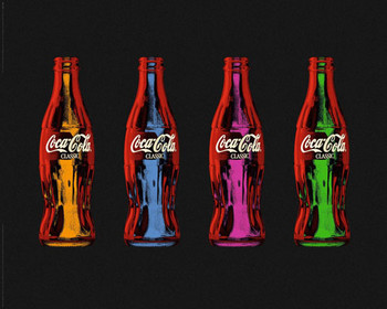 Juliste Coca Cola - popart