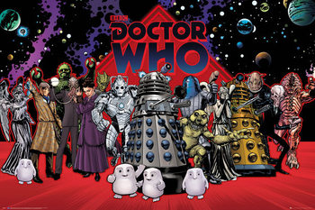 Juliste  Doctor Who - Compilation
