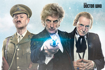 Juliste  Doctor Who - Twice Upon A Time