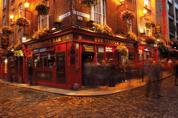 Juliste Dublin - Temple Bar