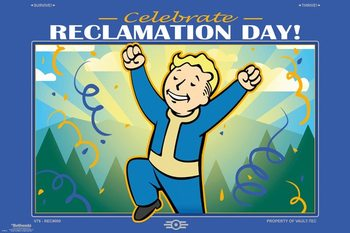 Juliste  Fallout 76 - Reclamation Day