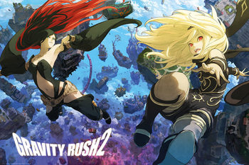 Juliste  Gravity Rush 2 - Key Art
