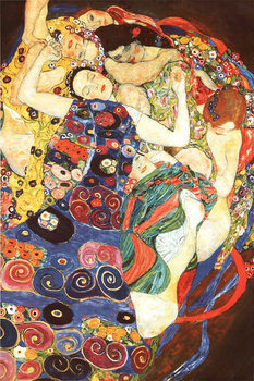 Juliste Gustav klimt - Die Jungfrau (The Virgin)