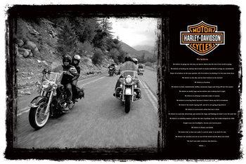 Juliste Harley Davidson - we believe