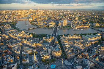 Juliste Jason Hawkes - London Evening
