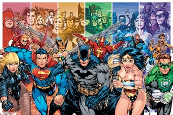 Juliste JUSTICE LEAGUE AMERICA