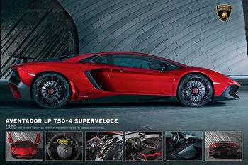 Juliste Lamborghini Aventador LP750-4