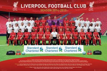 Juliste Liverpool FC - Team Photo 14/15