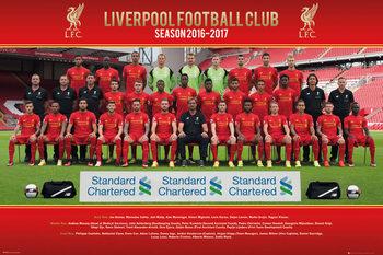 Juliste Liverpool - Team Photo 16/17