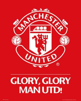 Juliste Manchester United FC - Club crest