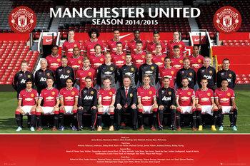 Juliste Manchester United FC - Team Photo