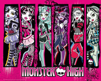 Juliste  Monster high - group