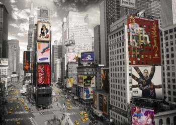 Juliste New York - Times square II.