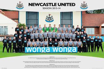 Juliste Newcastle United FC - Team Photo 13/14