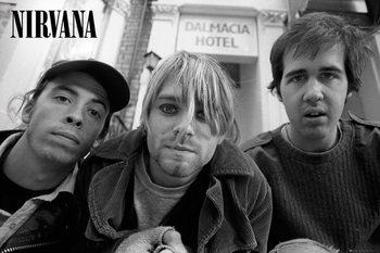 Juliste Nirvana - Band