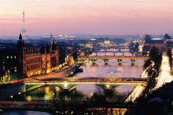 Juliste Pariisi - view colour