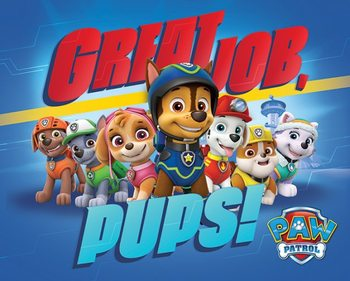 Juliste Paw Patrol - Great Job Pups