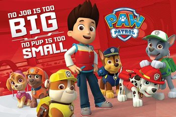Juliste Paw Patrol - No Pup Is Too Small