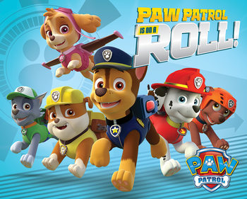 Juliste Paw Patrol - On A Roll