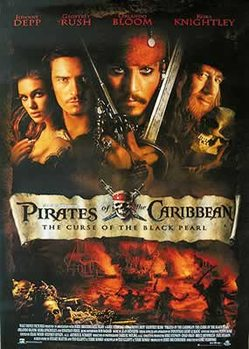 Juliste Pirates of the Caribbean - Johnny Depp