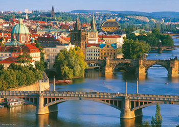 Juliste Prague – Prague bridges