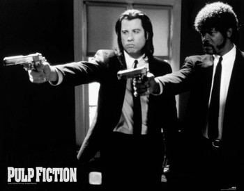Juliste  Pulp fiction - guns