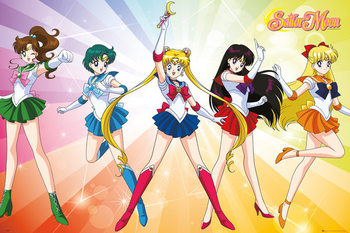 Juliste Sailor Moon - Rainbow