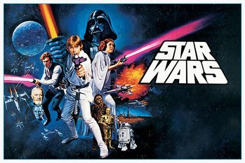 Juliste Star Wars - A New Hope