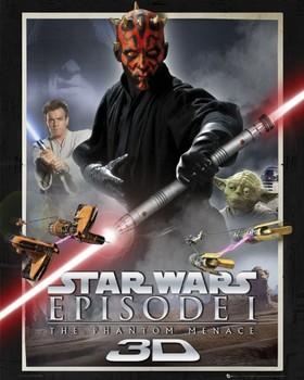 Juliste Star Wars – episode 1,one sheet