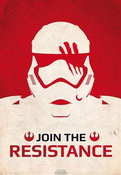 Juliste Tähtien sota: Episodi VII - The Force Awakens - Join the Resistance