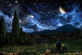 Juliste Tähtikirkas yö – Vincent van Gogh