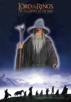 Juliste Taru sormusten herrasta - The Fellowship
