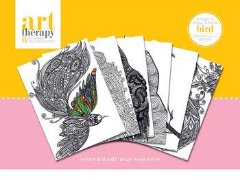Väritysjuliste Art Therapy - Bird