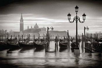 Juliste Venetsia - b&w