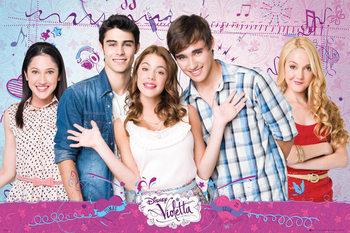 Juliste VIOLETTA - Cast